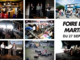The Crazy Dunkers on Valais Fair Trade in Switzerland